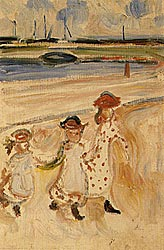 Three Girls at the Beach